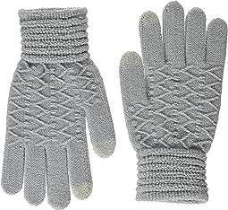 Lurex Zigzag iTouch Gloves