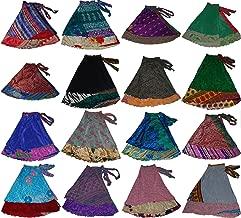 how to wear sari wrap skirt