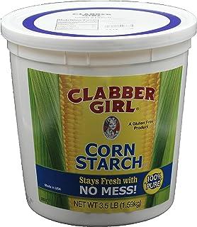 Clabber Girl, Corn Starch, 3.5lb