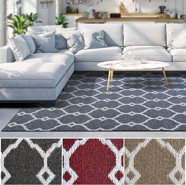 iCustomRug Modern Collection 送料無料 一部地域を除く Interior Style Geometric 送料無料新品 Trellis Ar