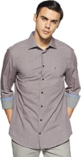 Tommy Hilfiger Men's Printed Slim Fit Casual Shirt
