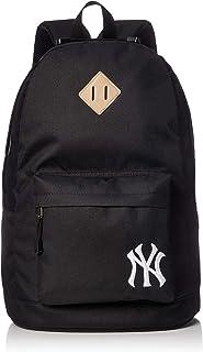MLB 纽约 洋基队 标志刺绣 背包 帆布背包 女士 男士 上学 远足 旅行 高中生 中学生 猪鼻头