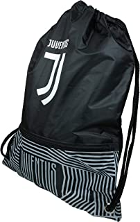 Icon Sports Compatible with Juventus Official Drawstring Cinch Bag 01
