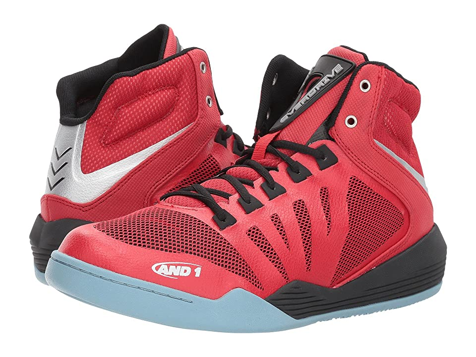 AND1 Overdrive (F1 Red/Black/Silver) Men