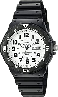 Casio Men's Sports Quartz Watch with Resin Strap, Black,...
