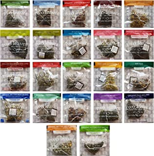 Two Leaves and a Bud Tea Whole Leaf Tea Variety Pack, 22 Flavors, 2 of each (44 Count)
