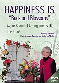 """Make an Arrangement for Your Table With Nancy Alexander. Nancy of Ladybug Wreaths will Teach You through """"Buds & Blossoms"""" to Design Your Own Beautiful Arrangement With Her Informative, Instructional DVD. This is Like Having Nancy Standing Right beside You as She Teaches You to Design This Beautiful Arrangement."""