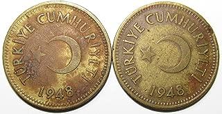 25 kurus coin