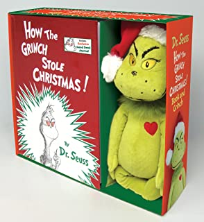 How the Grinch Stole Christmas! Book and Grinch (Classic Seuss)