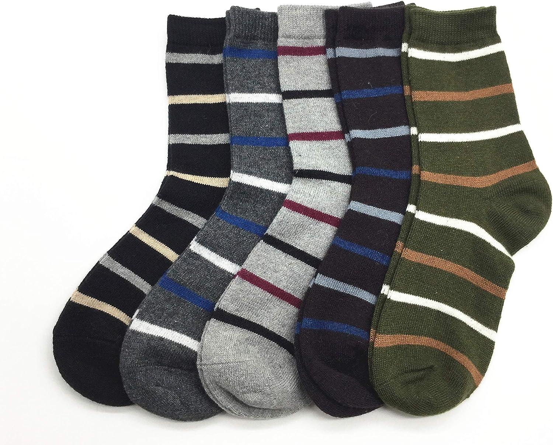 eee31a7b78693 Mens Mens Mens Cashmere Soft Wool Socks Fall Winter Vintage Warm Fuzzy Crew  Socks 5 Pack 6c3a96