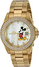 Invicta Women's Disney Limited Edition Quartz Watch with Stainless-Steel Strap