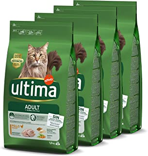 comprar comparacion ultima Pienso para Gatos Adultos con Pollo - Pack de 4 x 1.5 kg, Total: 6 kg