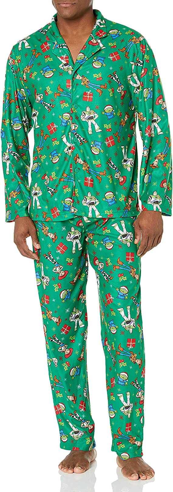 Disney Mens Toy Story Holiday Family Sleepwear Collection ...