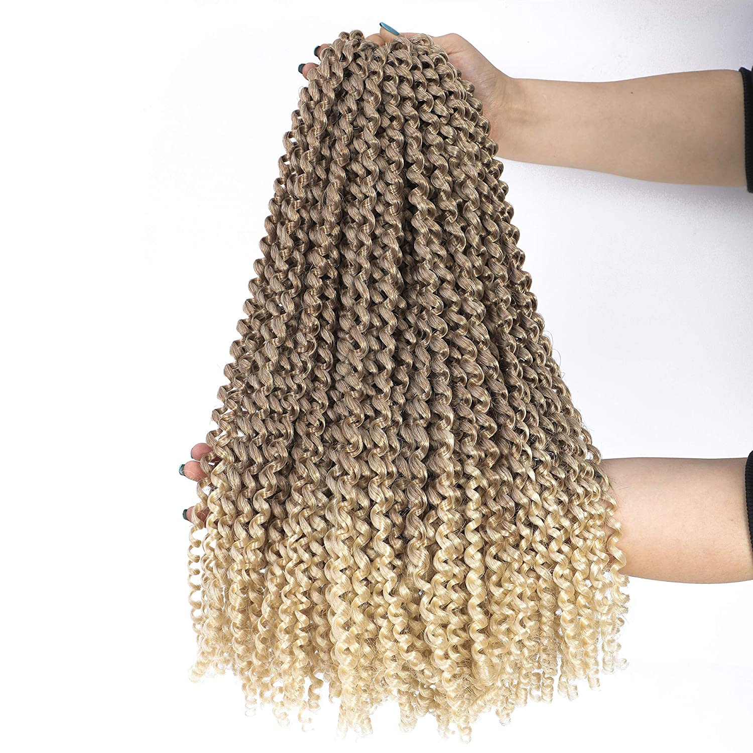 6Packs Passion Sale price Twist Hair 18 Wave Crochet Ombre Water Inch Sales for sale