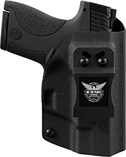 We The People Holsters - Black - Inside Waistband Concealed Carry - IWB Kydex Holster - Adjustable Ride/Cant/Retention