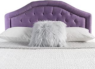 Christopher Knight Home Kaarina Elegant Fabric Queen/Full Headboard (Light Purple)