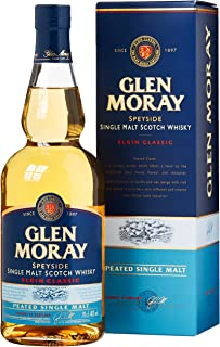 Glen Moray Elgin Classic Single Peated Malt mit Geschenkverpackung 1 x 0.7 l