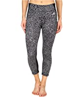 adidas - Clima Studio Mid Rise 3/4 Animal Print Tights