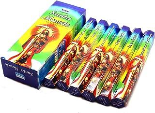 1 X Santa Muerte Rainbow- 120 Sticks Box - Darshan Incense