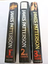 James Patterson set - Woman's Murder Club - 1st to Die, 2nd Chance, 3rd Degree