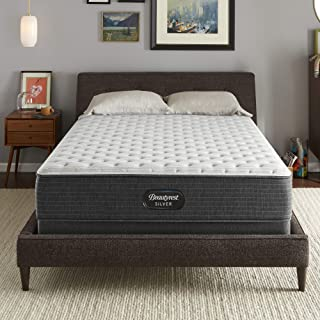 Beautyrest Silver BRS900 12 inch Extra Firm Innerspring Mattress and Box Spring