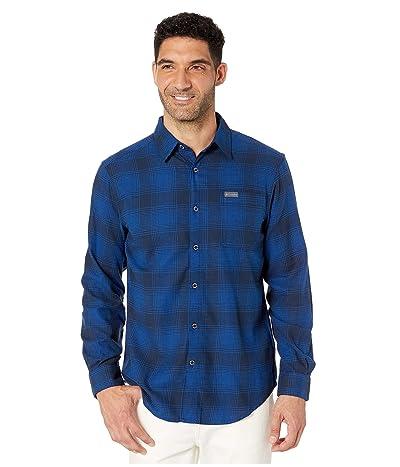 Columbia Boulder Ridge Long Sleeve Flannel (Collegiate Navy Check) Men