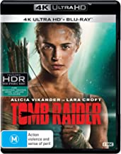 Tomb Raider 4K UHD / Blu-ray | 2018 Movie | Alicia Vikander | NON-USA Format | Region B Import - Australia