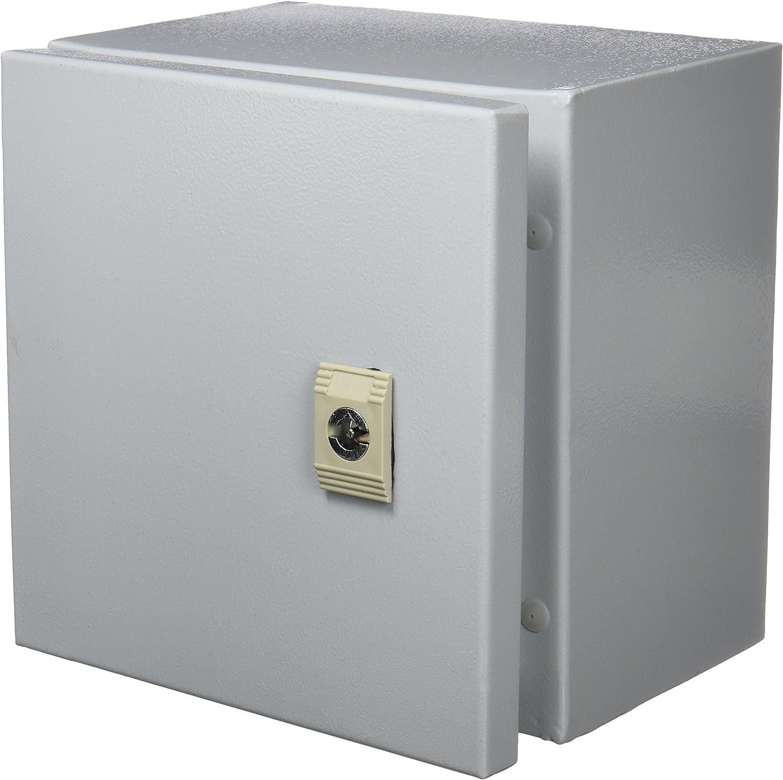 Cablematic PN23021518200170091 - Caja de distribución eléctrica metálica con protección IP65 para fijación a Pared 200x200x150 mm, Color Beige