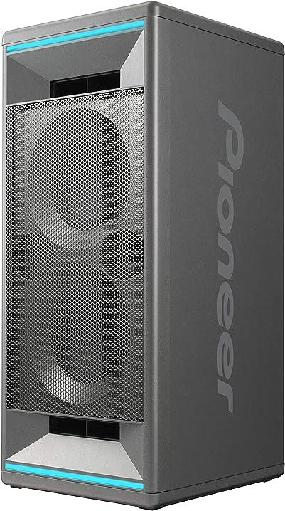Cassa audio con effetti di luce a led, usb per la riproduzione di mp3, per iphone ios e android pioneer club 5 XW-SX50-H