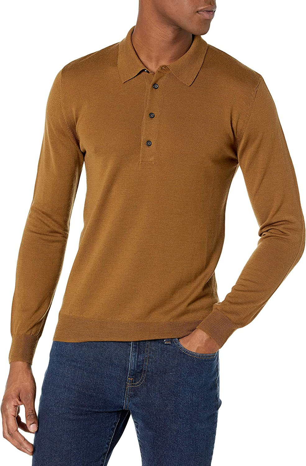 Billy Reid Men's Fine Milwaukee Mall Gauge Year-end annual account Sweater Polo