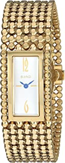 ROBERTO BIANCI WATCHES Women's 'Verona' Swiss Quartz Stainless Steel Casual Watch, Color:Gold-Toned (Model: RB90780)