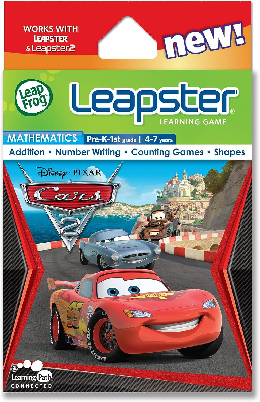 LeapFrog Leapster Learning Fresno Mall Game: Great interest Pixar Cars 2 Disney