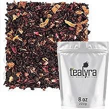 Tealyra - Grandma's Garden Berry - Fruit Tea Blend - Hibiscus and Berries Based Herbal Loose Leaf Tea - Vitamines Rich - Caffeine-Free - Hot and Iced Tea - 220g (8-ounce)