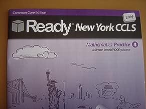 2014 Ready New York Common Core Practice Math Grade 4 (Ready)