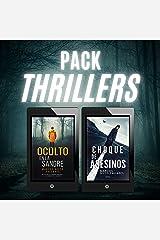 PACK THRILLERS: Oculto en la sangre + Choque de asesinos Versión Kindle