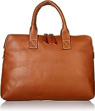 Florsheim Vintage Waxed Leather Double Handle Laptop Sleeve Laptop Bag