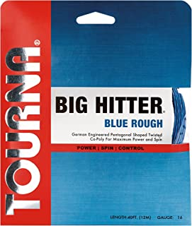 Tourna Big Hitter Blue Rough Maximum Spin Polyester Tennis String