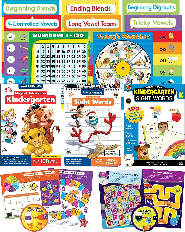 Carson Dellosa CAS0P Kindergarten Homeschool Kids Atlanta Mall Ea – Kit for Luxury
