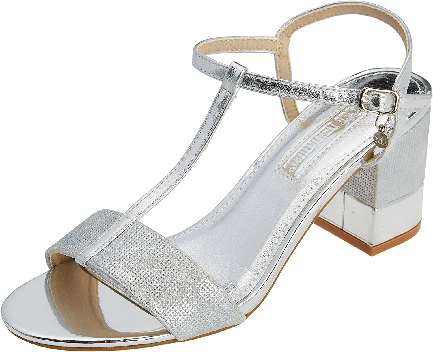 XTI TENTATIONS shoes Woman Sandals Heel 30681 silver