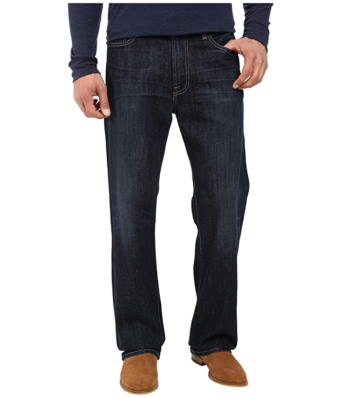 Lucky Brand  181 Relaxed Straight in Oceanside (Oceanside) Mens Jeans
