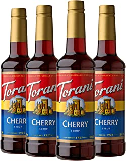 Torani Syrup, Cherry, 25.4 Oz (Pack Of 4)
