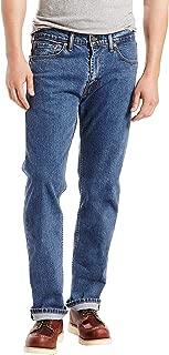 Men's 505 Regular Fit Jeans, Stonewash - Stretch, 33W x 32L