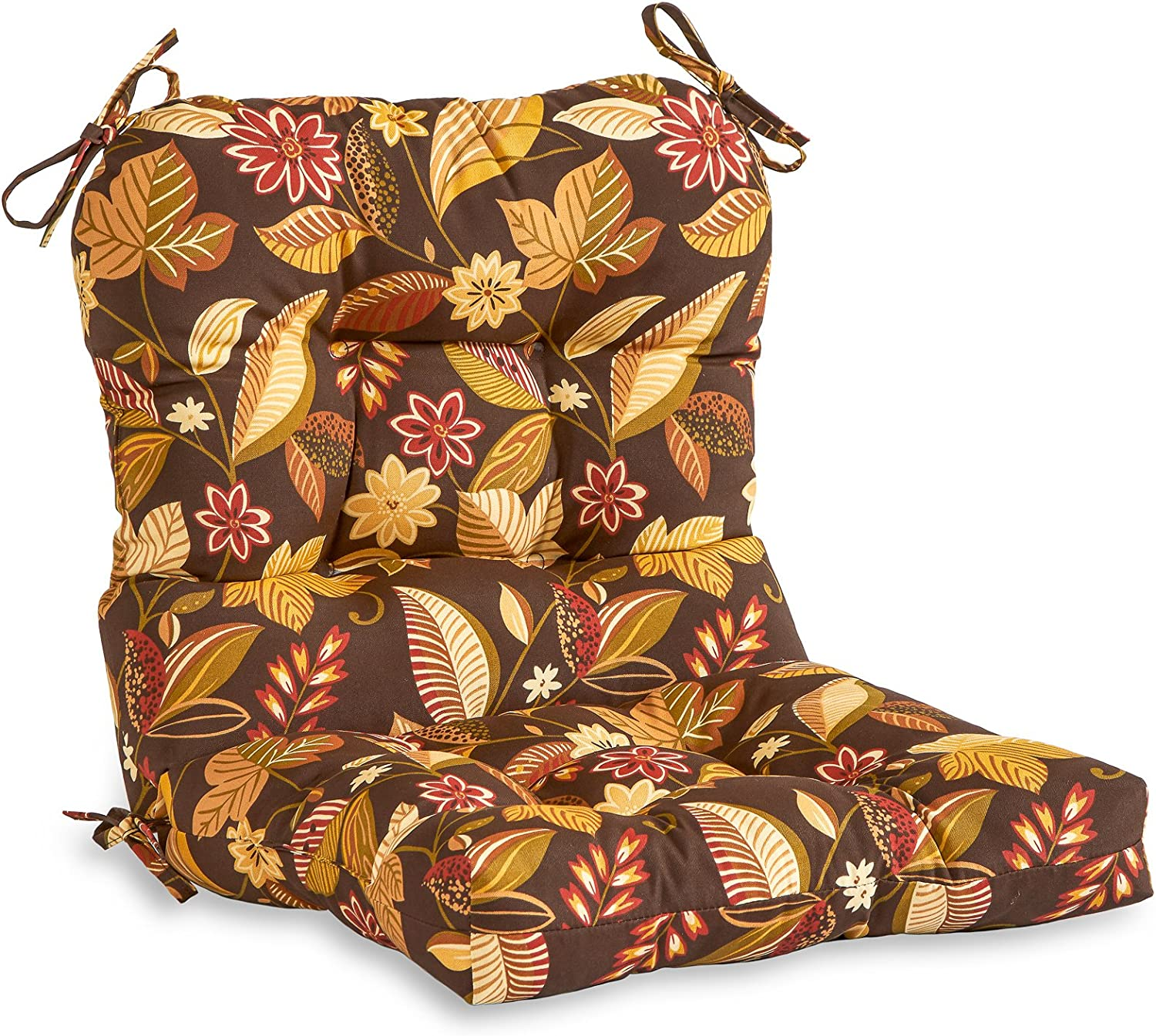 Greendale Phoenix Mall Home Fashions AZ4808-TIMBFLORAL Russet x Floral 38 Soldering 21-
