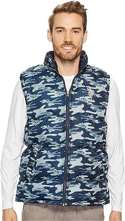 Basic Camo Puffer Vest