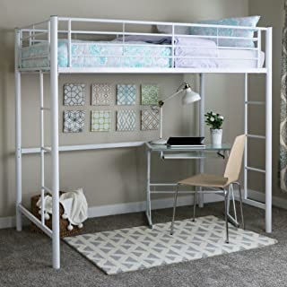 798c7c17c1f0c Walker Edison Twin Metal Loft Bed