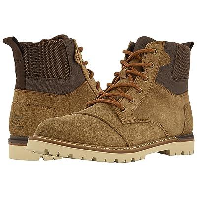 TOMS Ashland Waterproof Boot (Twig Oiled Suede) Men