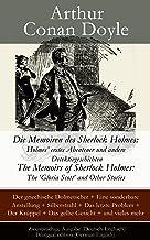 Die Memoiren des Sherlock Holmes: Holmes' erstes Abenteuer und andere Detektivgeschichten: The Memoirs of Sherlock Holmes:...