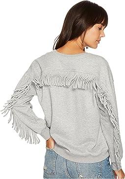 Fringe Back Sweatshirt