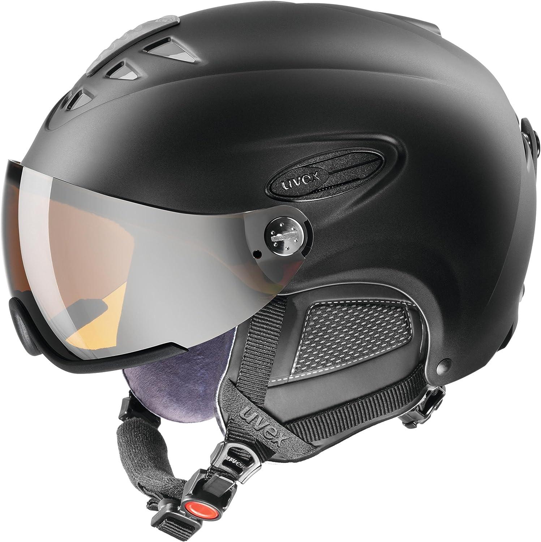 Uvex 300 Visor Ski Helmet Small Black Mat