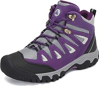 Mishansha Zapatillas de Senderismo Hombre Mujer Ligero Antideslizantes Zapatos de Trekking, Unisex